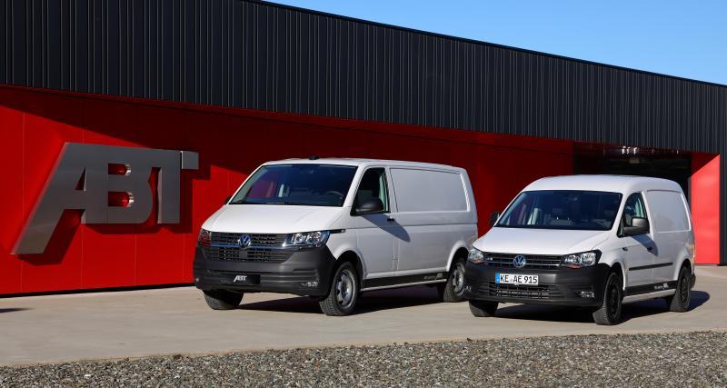 ABT e-Transporter 6.1 : l'utilitaire électrique Volkswagen disponible à la commande