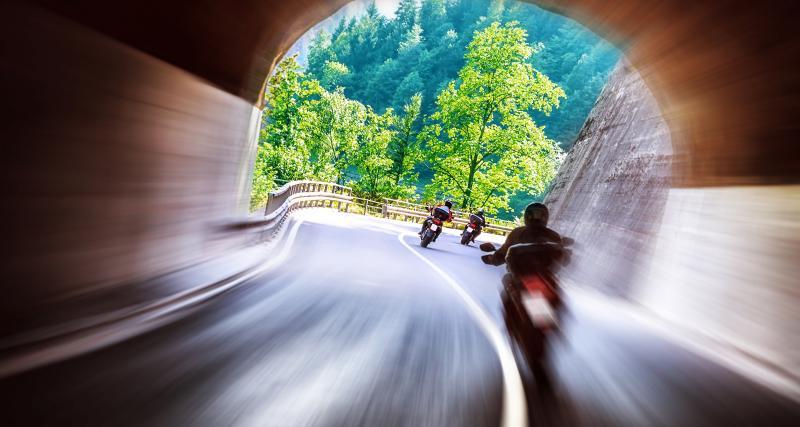 Un motard flashé à 183 km/h sur une nationale, direction le tribunal