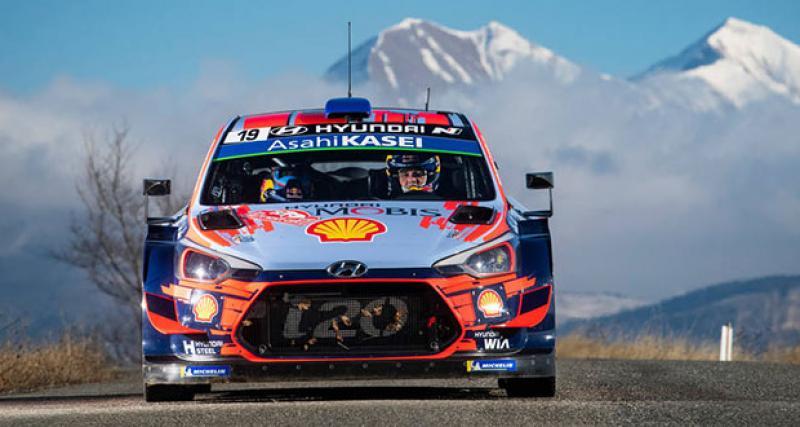 WRC - Rallye du Mexique : Neuville débute bien, Evans à ses trousses