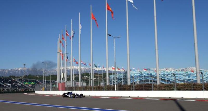 Le tweet de la F1