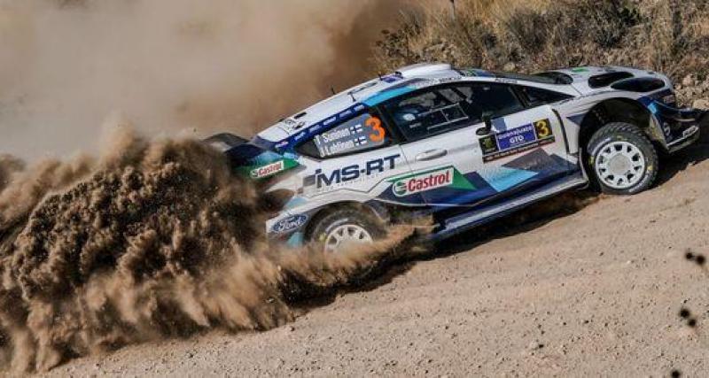 Le podium final du rallye du Mexique