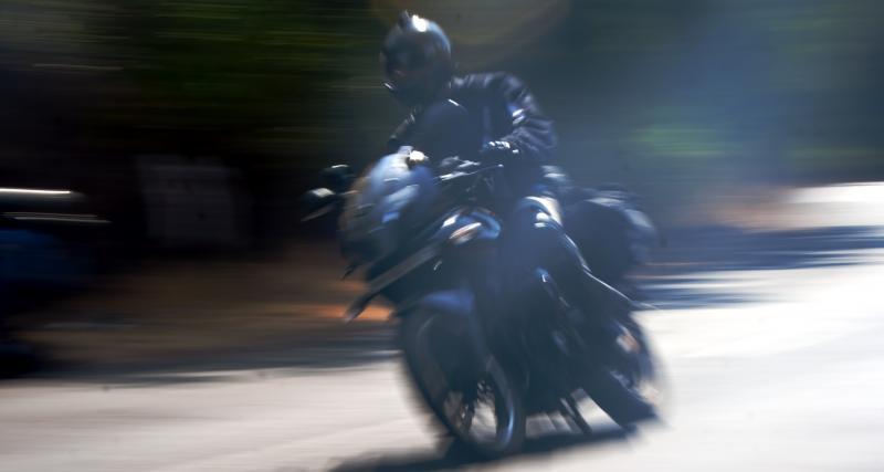 Un motard flashé deux fois au-dessus de la vitesse autorisée !