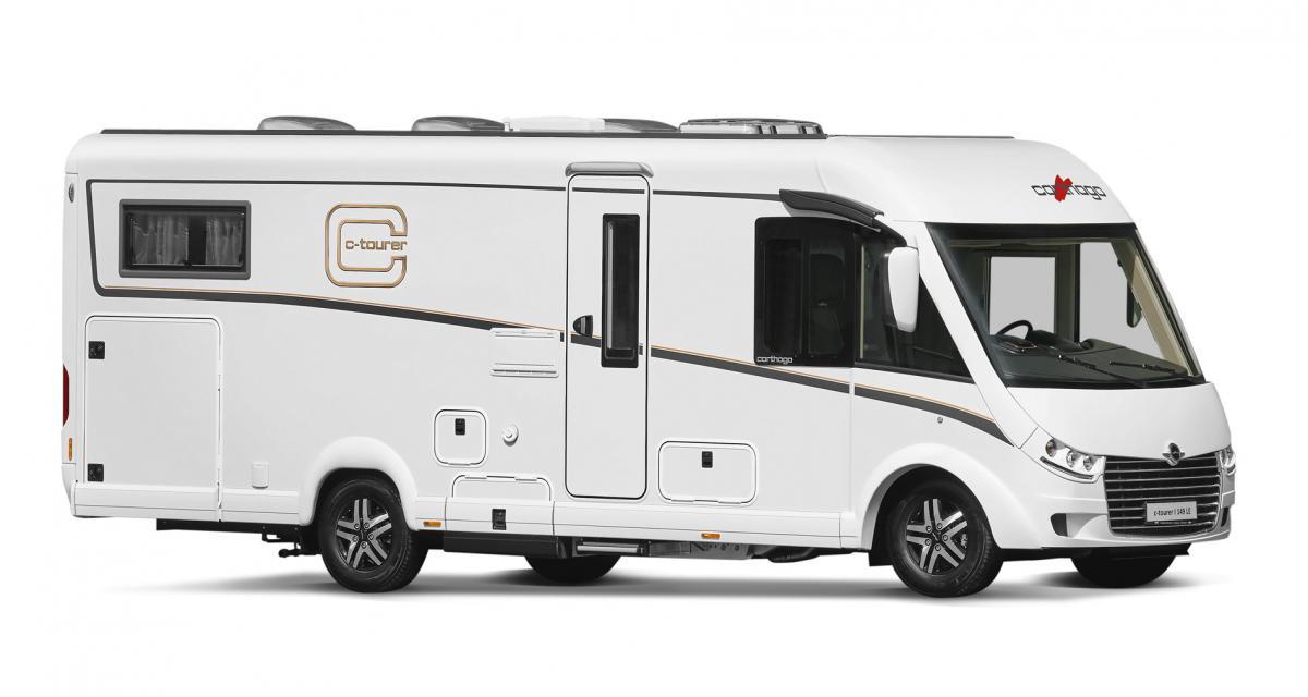 Carthago c-tourer 2020 : des camping-car haut-de-gamme toujours plus légers