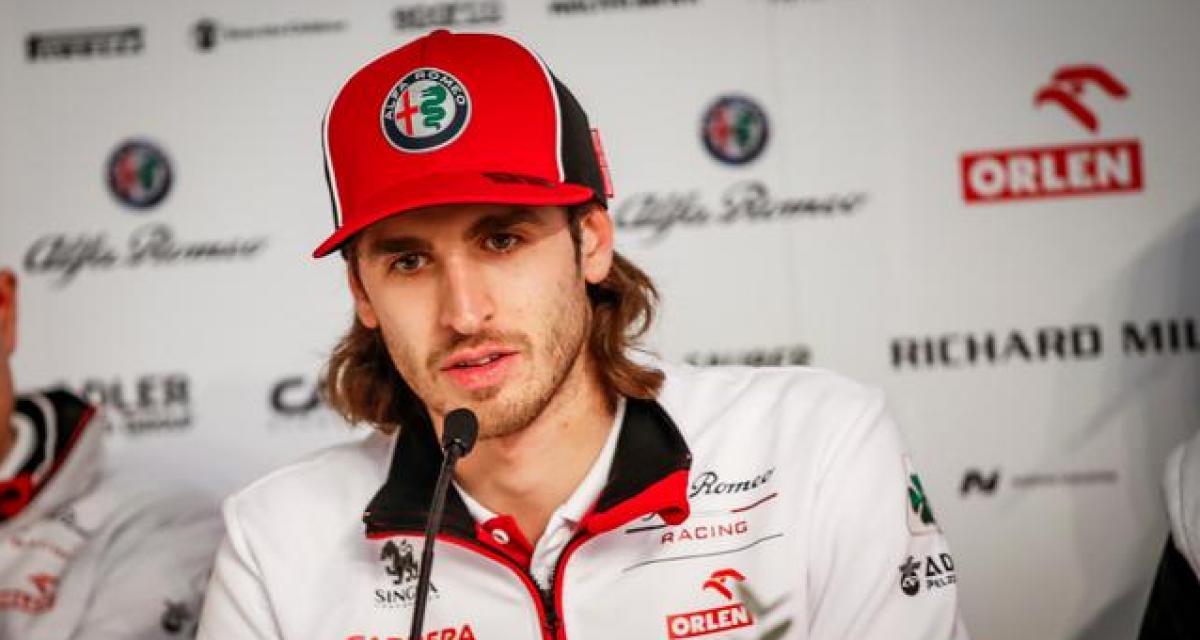 """Giovinazzi : """"Je veux réussir avec Ferrari"""""""