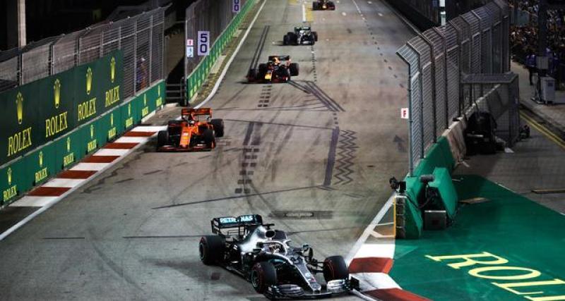 La lettre de la F1