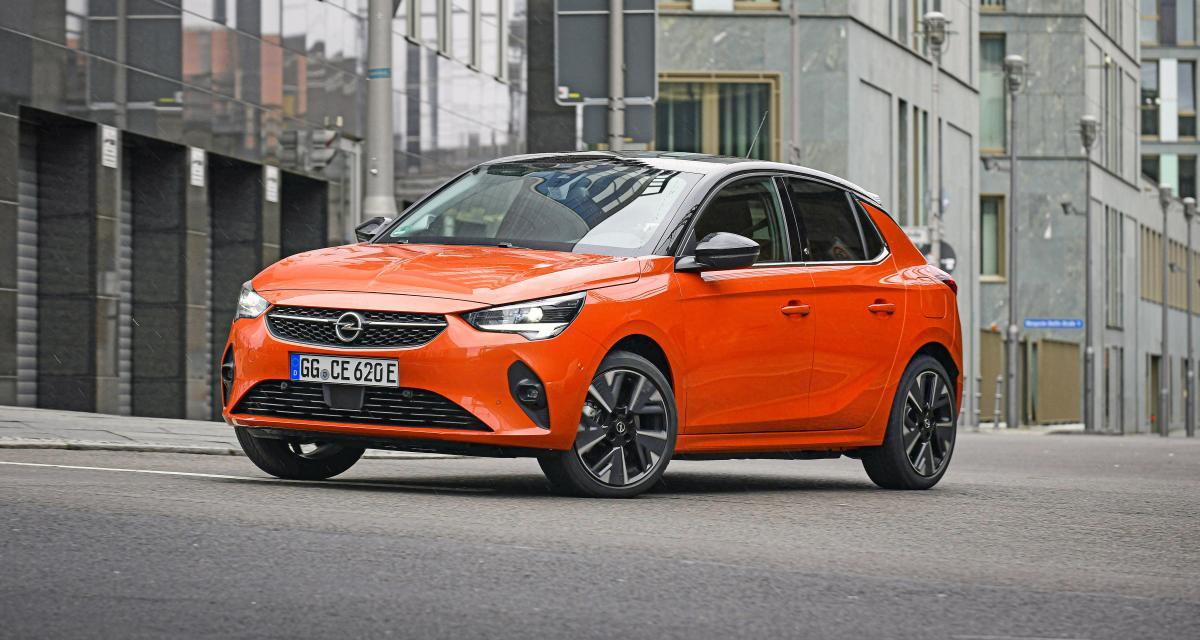 Opel Corsa-e : à partir de 30 650 € en France