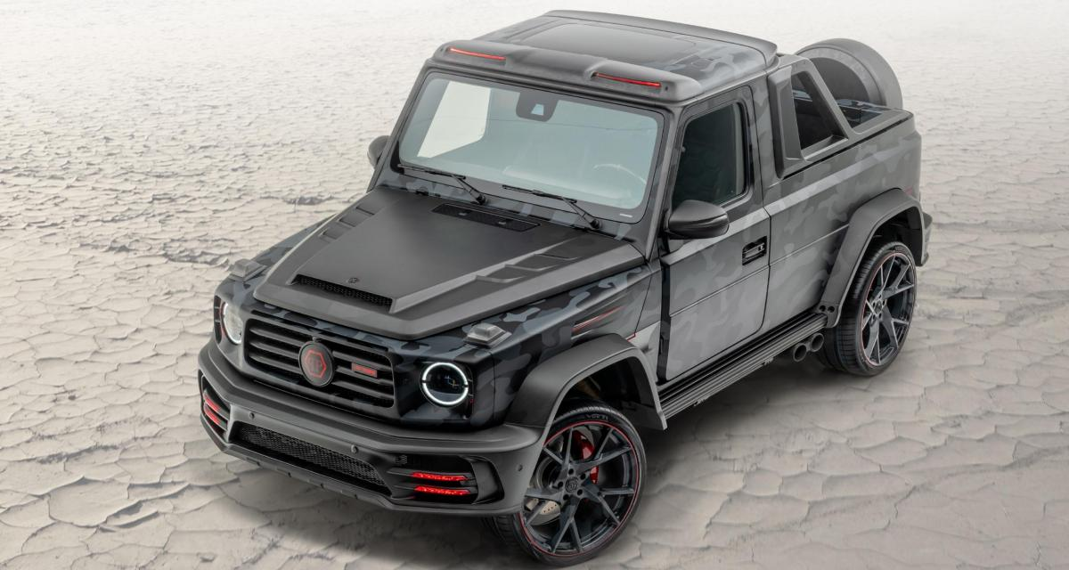 Mansory Pickup Star Trooper : un pick-up signé Philipp Plein