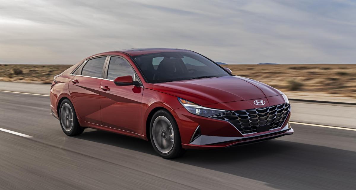 Hyundai Elantra (2021) : refonte totale pour la berline compacte