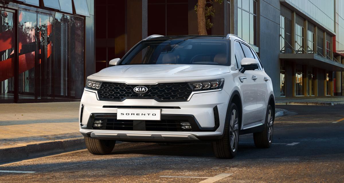 Nouveau Kia Sorento (2020) : le SUV coréen plus sexy que jamais