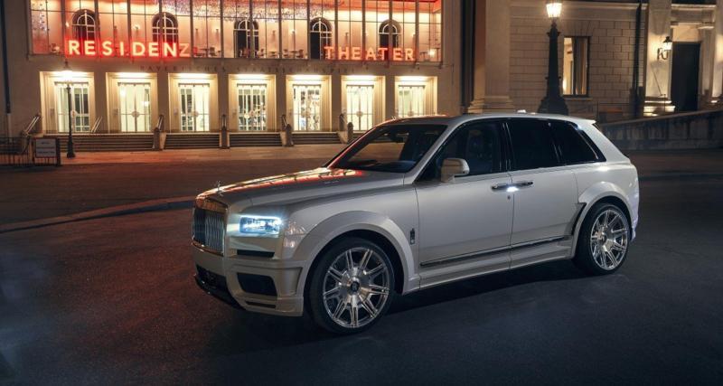 Rolls-Royce Cullinan by Spofec : séance de muscu pour le SUV le plus cher du monde