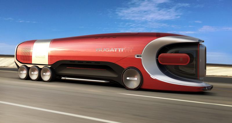 Bugatti Hyper Truck : un poids lourd capable de rouler à plus de 300 km/h
