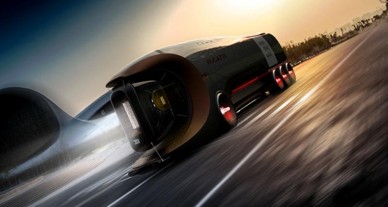 Signature stylistique Bugatti