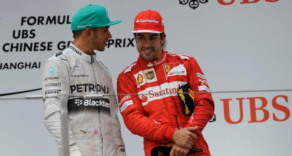 """Pedro de la Rosa : """"Le duo Alonso-Hamilton est le plus fort de toute l'histoire de la F1"""""""