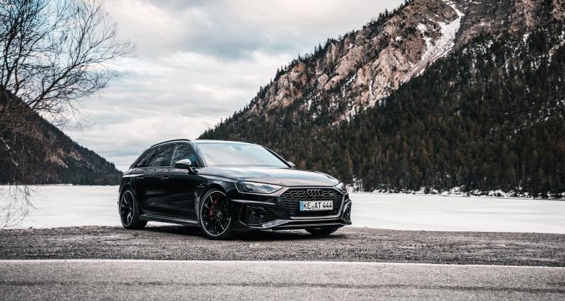 Audi RS4 par ABT Sportsline : nouvelle préparation, encore plus de puissance
