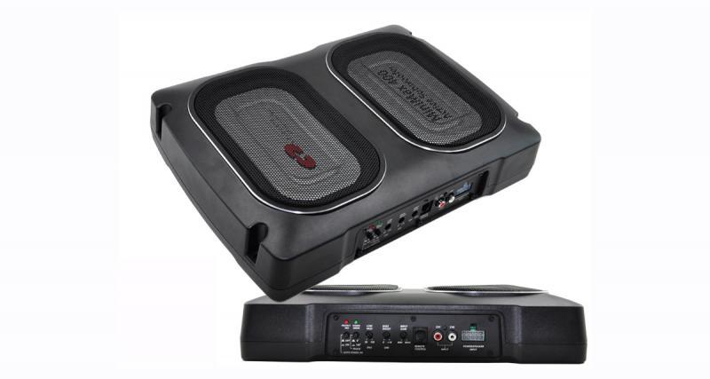 CDT Audio commercialise un caisson de grave actif compact