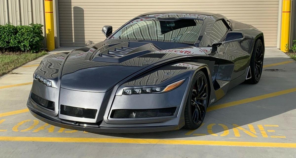 Une Batmobile sur base de Chevrolet Corvette à vendre sur eBay