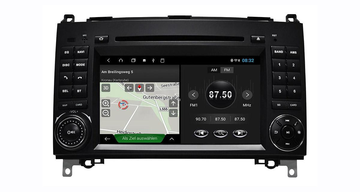 Un autoradio Android « plug and play » pour certaines Mercedes chez ESX