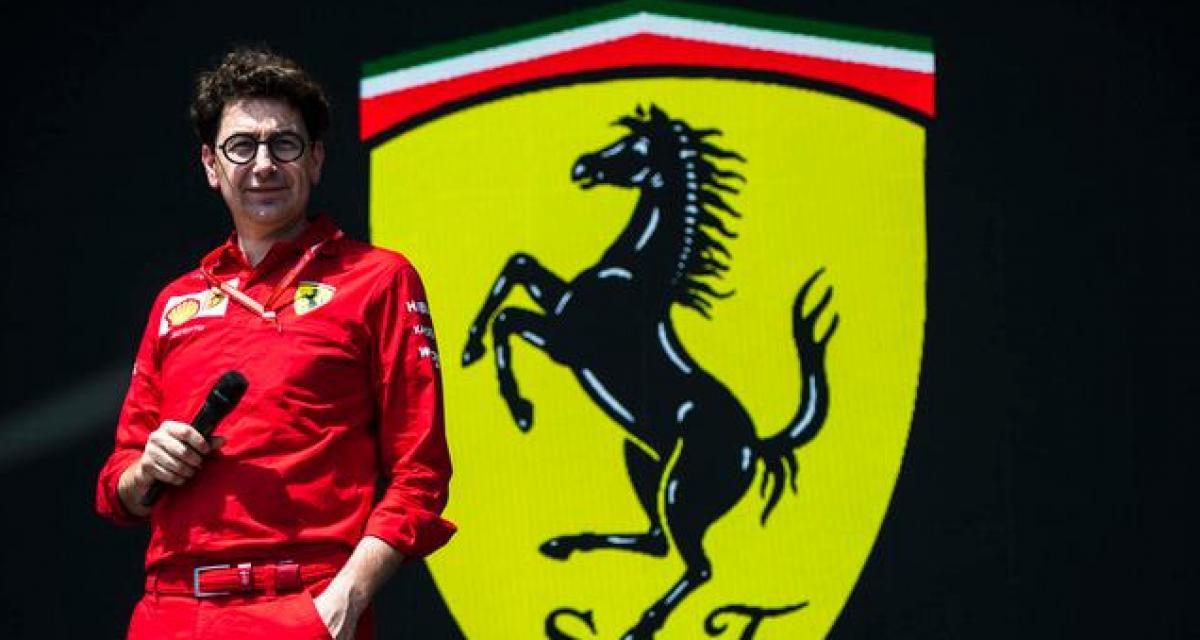 """Ecclestone tacle Binotto : """"il n'est pas la personne adéquate pour diriger Ferrari"""""""