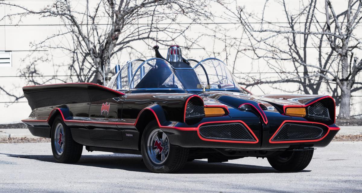 Batmobile : la première monture de Bruce Wayne à vendre