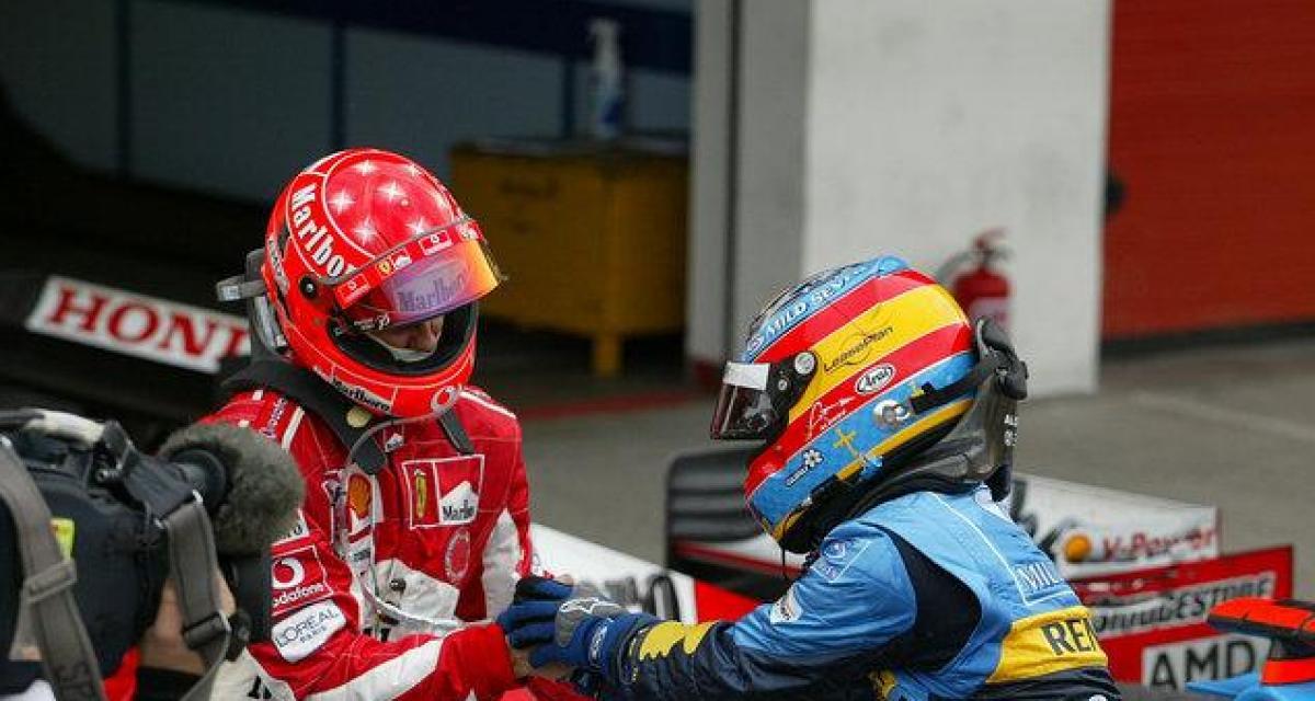Briatore compare Alonso à Schumacher