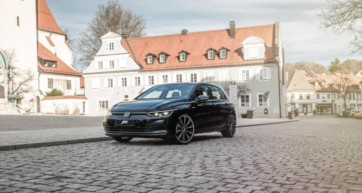 Volkswagen Golf 8 par ABT : la compacte en mode lowrider