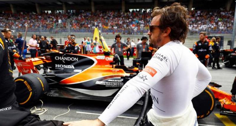 """Alonso : """"je ne veux pas courir en ce moment"""""""