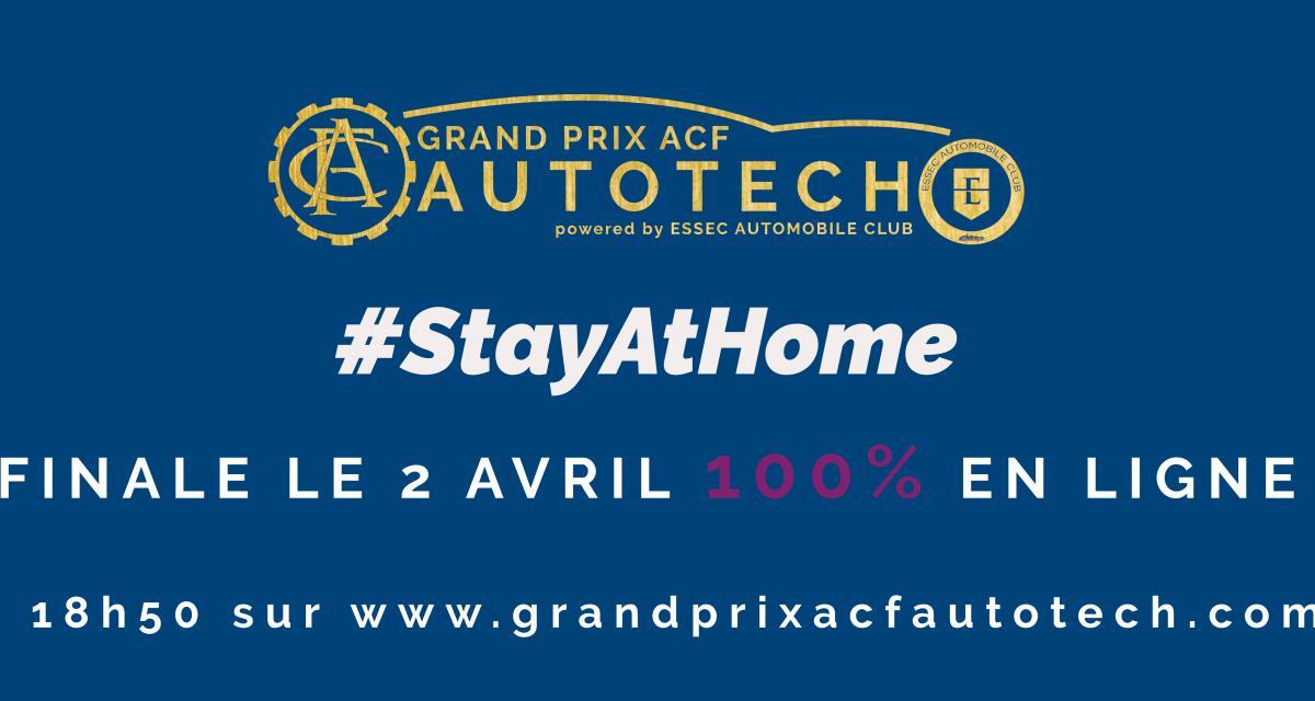 Grand Prix ACF Autotech 2020 : suivez la remise des prix en direct en vidéo le 2 avril