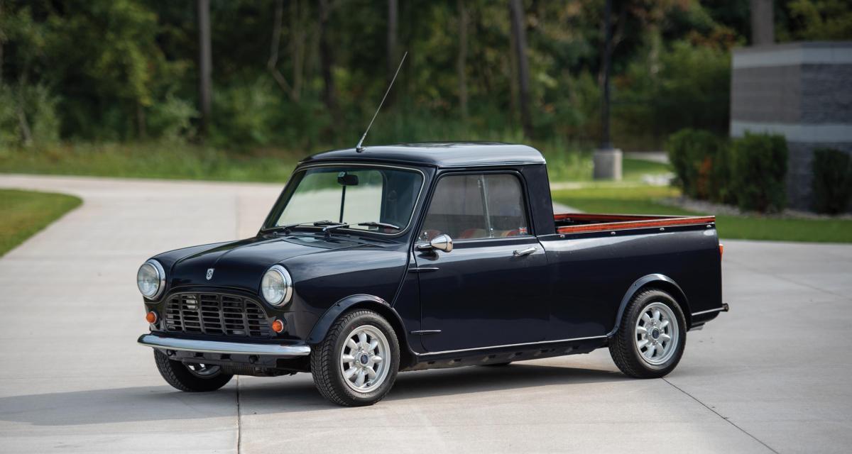Mini Pickup : un petit utilitaire pas comme les autres