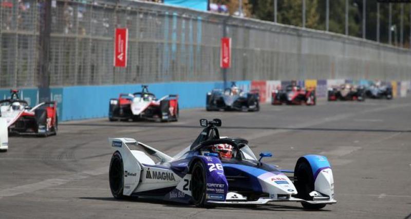 Formule E : le coronavirus pourrait condamner le reste de la saison 2020