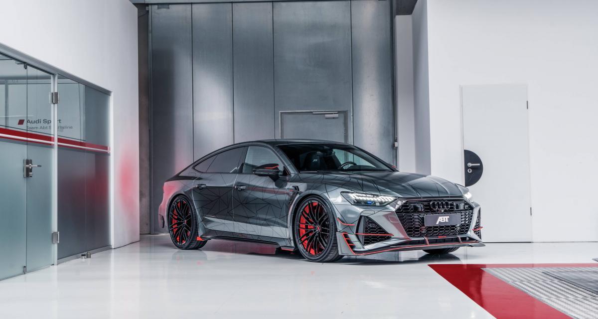 Audi RS7-R par ABT : le missile sol-sol est lancé