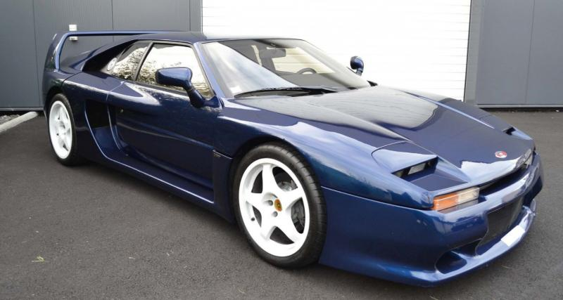 Venturi 400 GT : la Ferrari F40 française