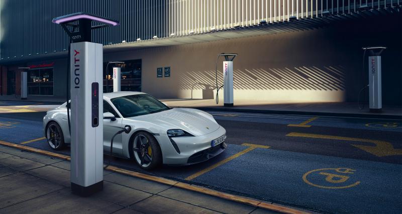 La monture : Porsche Taycan Turbo