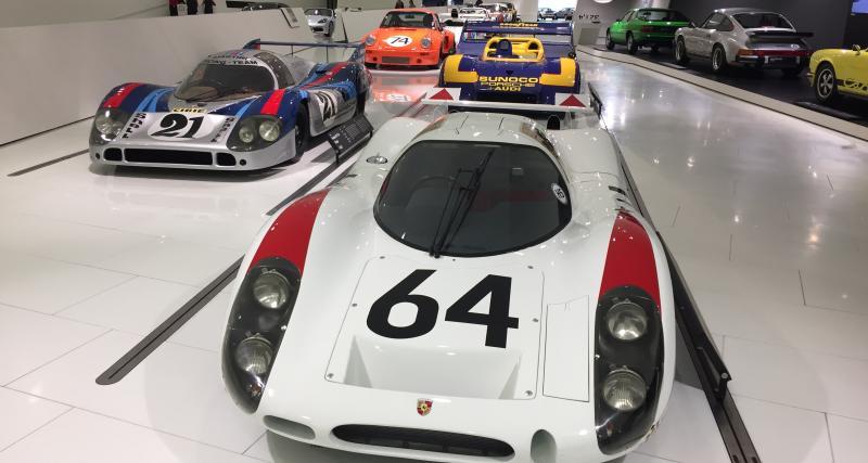 Confinement : le musée Porsche ouvert... virtuellement