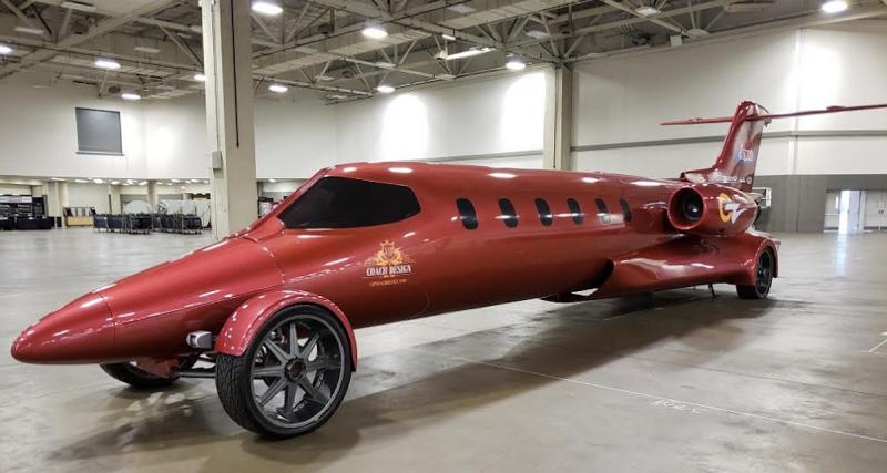 Limo-Jet : ll transforme un jet privé en limousine !