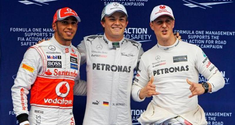 Le top 5 des meilleurs pilotes de l'histoire de la F1 selon Nico Rosberg