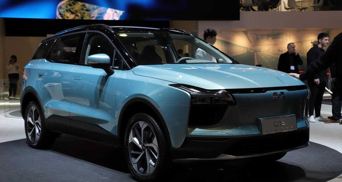 Aiways U5 : le SUV 100% électrique chinois en précommande fin avril en France