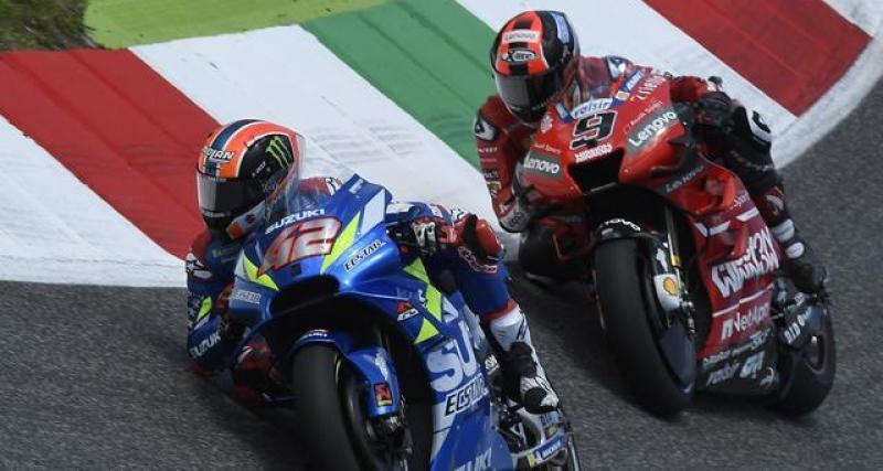 Le tweet du MotoGP