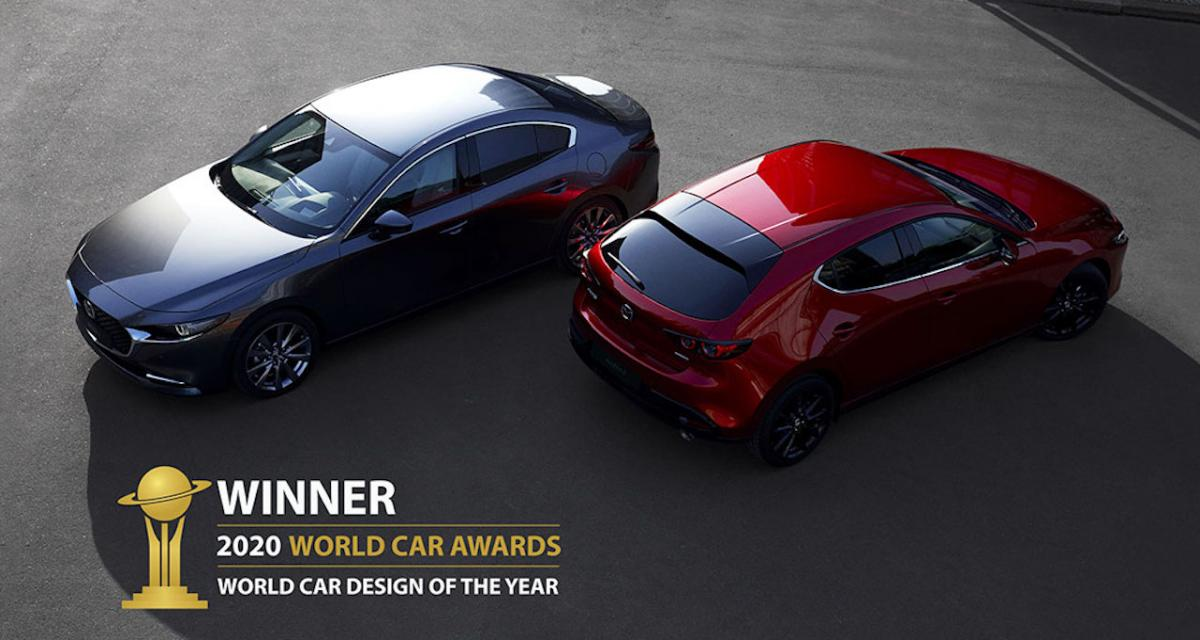 La Mazda3, lauréate du World Car Design of the Year 2020 !
