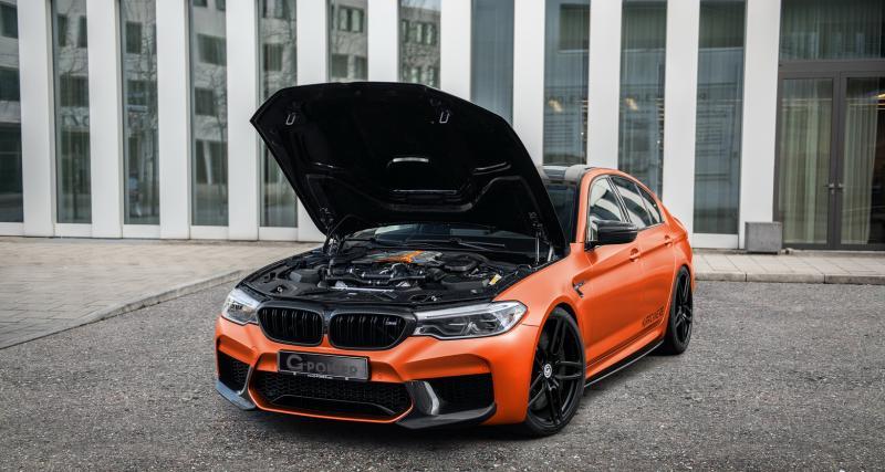 BMW M5 Hurricane RS by G-Power : 840 ch pour le Graal de la berline munichoise