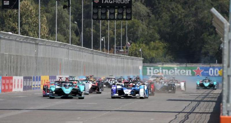 Le tweet de la Formule E