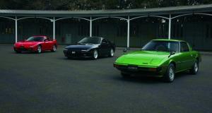 Mazda RX-7 : trois générations de sportives à moteur rotatif