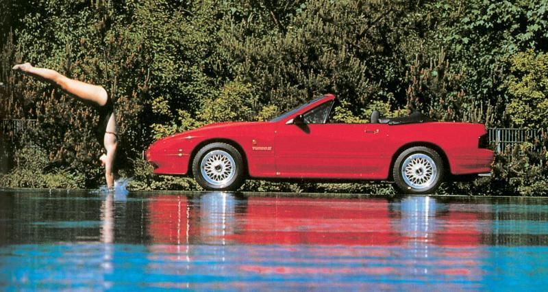 """Deuxième génération : RX-7 """"FC"""" (1985-1992)"""