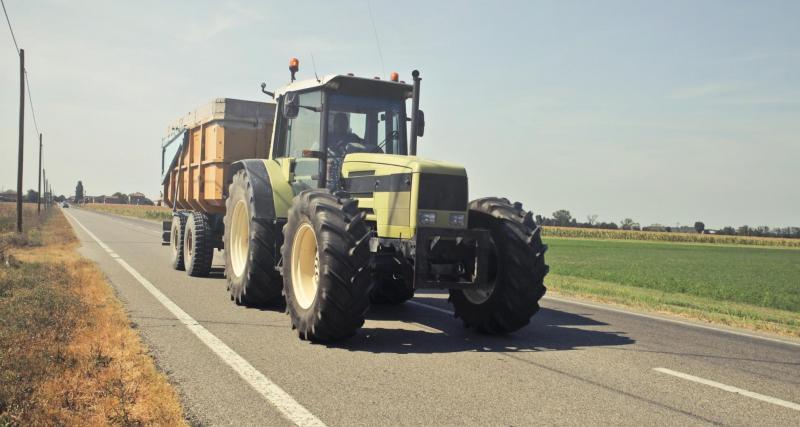 Tracteur vs police