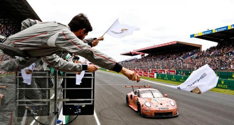 Le tweet des 24 Heures du Mans