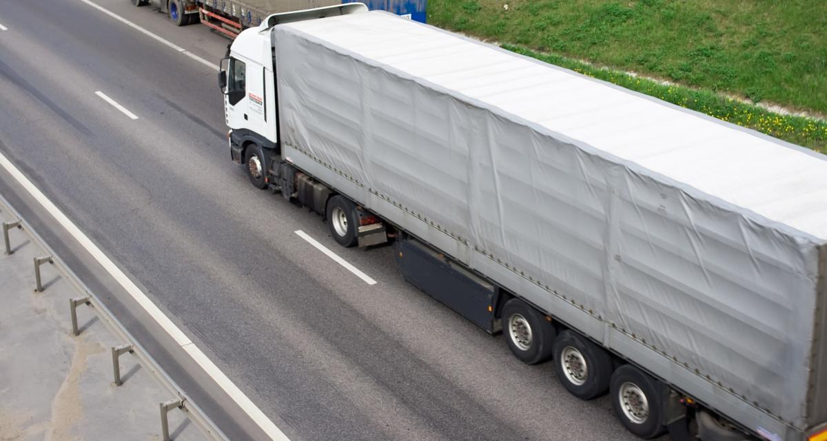 Un poids lourd chargé de 39 tonnes flashé à 145 km/h !