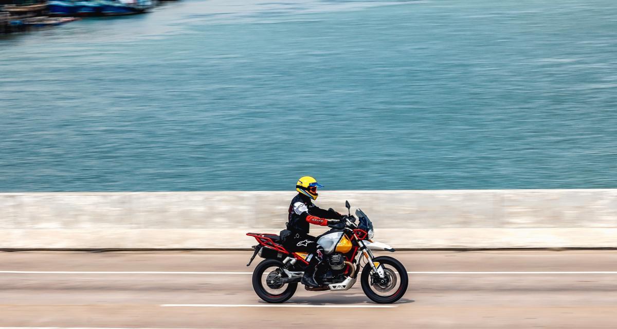 Course-poursuite à moto : il se jette dans la rivière pour échapper aux gendarmes ! !