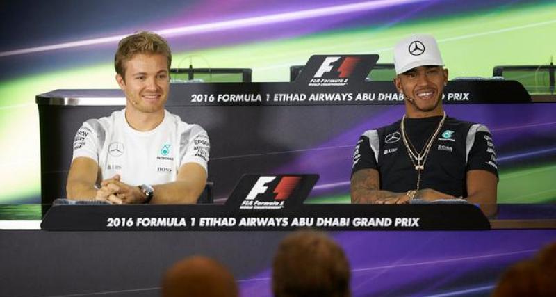 La déclaration de Nico Rosberg
