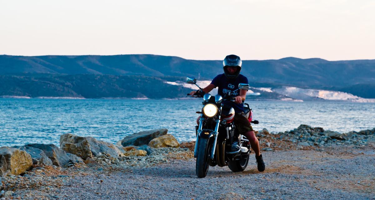 Un motard flashé à 177 km/h sur une route limitée à 80 !