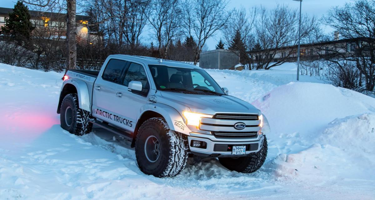 Ford F-150 by Arctic Trucks : des grosses roues pour briser la glace