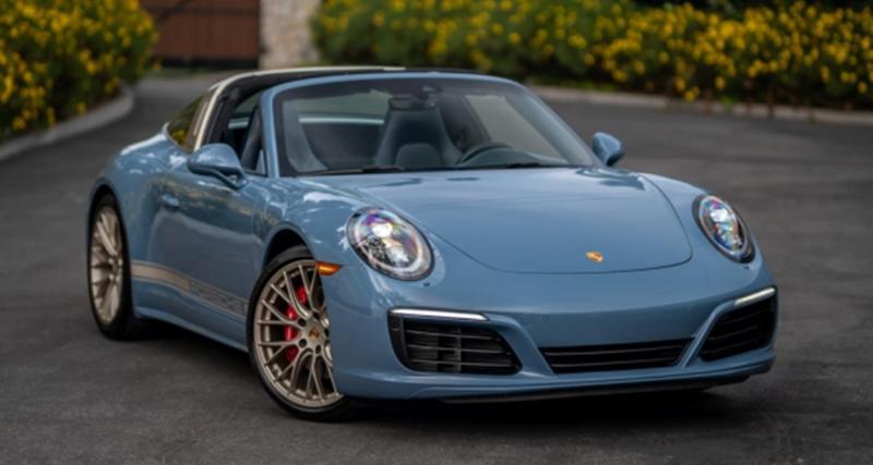 Porsche 911 Targa 4S Exclusive Design Edition : alerte au futur collector